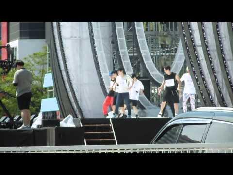 150809 Super Junior - Devil REHEARSAL