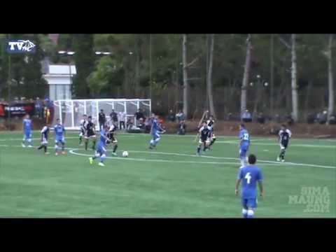 Persib Bandung - Highlight Laga Ujicoba Persib vs Football Plus