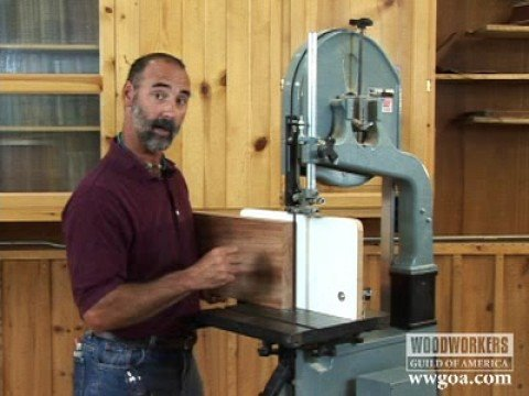 Woodworking Tips Band Saw Resawing Youtube