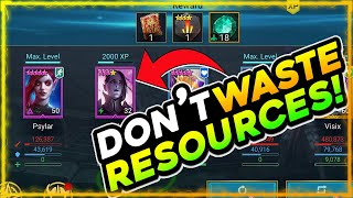 COMPLETE FACTION WARS NOW! STOP WASTING RESOURCES   BUDGET SHOWCASE   RAID SHADOW LEGENDS