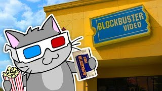 Cat Goes to BLOCKBUSTER! - AM64