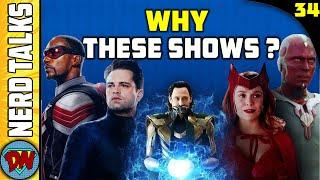 Why Marvel is Making Disney Plus Shows ? | Nerd Talks Ep 34