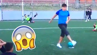 FOOTBALL LIKE A BOSS (SKILLS, FREESTYLE, GOALS)