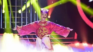Màn hoá thân danh hài Quang Thắng giống như đúc của Đỗ Duy Nam - Gương mặt thân quen