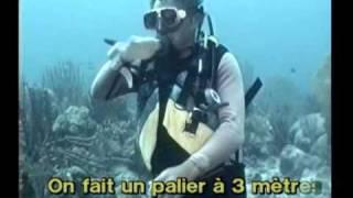Parler sous l'eau