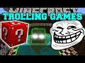 Minecraft: MUTANT CREATURES TROLLING GAMES - Lucky Block Mod - Modded Mini-Game