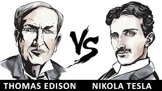 Thomas Edison Vs Nikola Tesla | Vlog#31 by HooplakidzLab