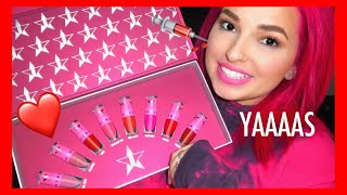 Mini Red Lipstick Set | Love Sick Collection | Jeffree Star Cosmetics | Cerise1307 |
