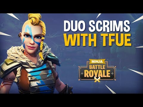 Playing Duo Scrims With Tfue - Fortnite Battle Royale Gameplay - Ninja