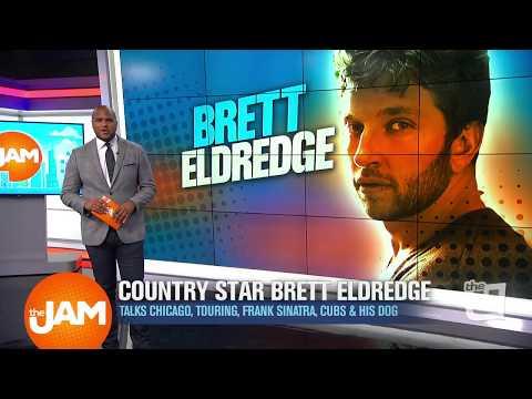 Country Star Brett Eldredge Talks Music, Chicago Cubs & His Biggest Idol