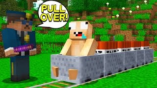 WHAT IF MINECRAFT HAD COPS... (Minecraft Trolling)