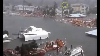 Hurricane Michael Hammers Panama City, Mexico Beach In Florida