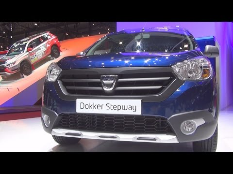 Dacia Dokker Stepway TCe 115 Start&Stop (2016) Exterior and Interior in 3D