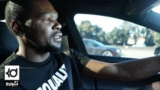 Warriors Training Camp & Ride Along With KD