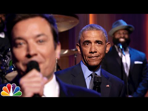 Jimmy Fallon and ''Slow Jam the News'' with President Obama