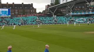 Jimmy Anderson's record breaking wicket