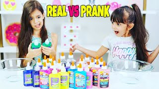 Real vs Prank Slime - Don't Choose The Wrong Glue Slime Challenge!