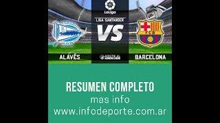 Alaves vs Barcelona 0-2 - Highlights & Goals Resumen & Goles 2019 HD