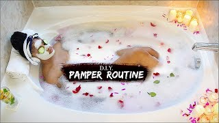LUX PAMPER ROUTINE ➟ DIY At-Home Spa on a Budget!