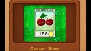2 Plants vs  Zombies How to Play Basics and how to get the Cherry Bomb