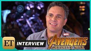 'Avengers: Infinity War': Mark Ruffalo (FULL INTERVIEW)