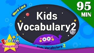 Kids vocabulary 2 compilation - Words Cards collection (ABC first Dictionary)|English for kids