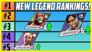 New Apex Legends Tier List! Ranking All Legends After Lost Treasures Update