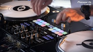 PIONEER DJ DJM-S9 in action