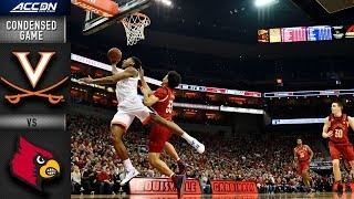 Louisville vs. Virginia Condensed Game | 2018-19 ACC Basketball