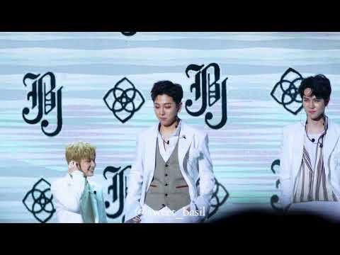 [4k] 171018  노태현 김동한 Shape of you  @JBJ 데뷔 쇼케이스