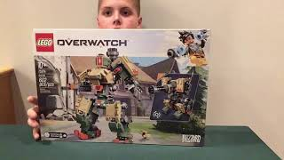 LEGO BUILD OVERWATCH 75974 Bastion