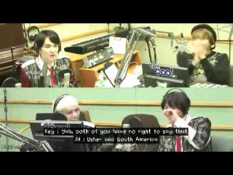 ENG Sub Taemin with Kai Speed Quiz Taemin singing MAMA