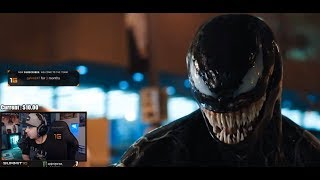 "Summit1g reacts to ""VENOM - Official Trailer (HD)"""