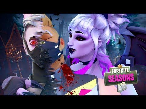 Dusks LOVE BITE turns DRIFT into a VAMPIRE  !! Fortnite Season 6 Short Film