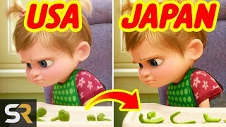 10 Pixar Movie Scenes That Were Changed In Other Countries