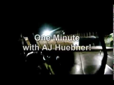 One Minute with AJ Huebner