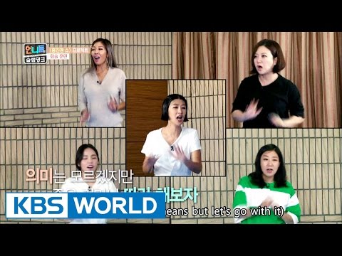 A special training session for the member's conversation skills [Sister's Slam Dunk/2016.11.25]