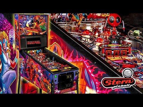 Stern Pinball Deadpool Pro il Trailer del nuovo flipper