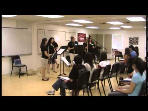 Areon Flutes Education! 2010 Areon Summer Flute Institute Master Class - Part 3