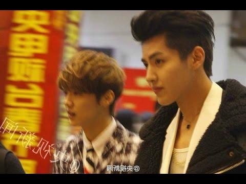 [Krishan] Wu yi fan and Luhan meet up after they quit EXO