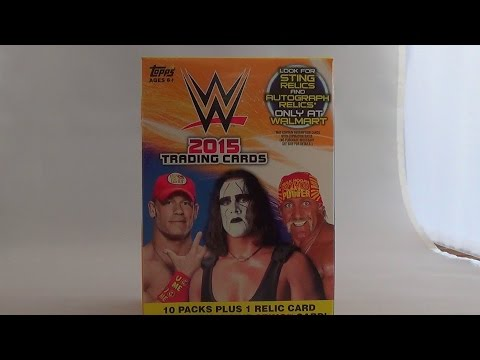 WWE Topps 2015 Trading Cards Box Opening #3