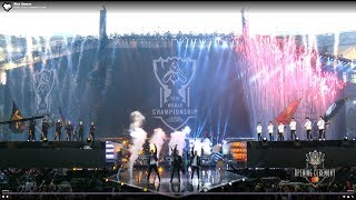 Rise Worlds Theme Song Live Performance Worlds 2018 Final Opening Ceremony