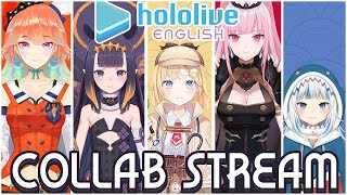 【COLLAB】The Interrogation Begins.... #hololiveEnglish #holoMyth