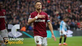 West Ham vs. Huddersfield: Javier Chicharito Hernández anotó dos golazos y fue el héroe   Telemundo