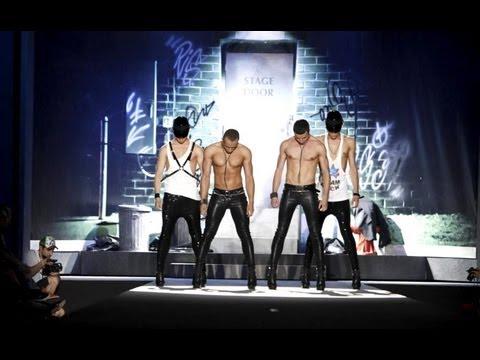 Kazaky at Dsquared2 SS/2012 Men's Fashion Show