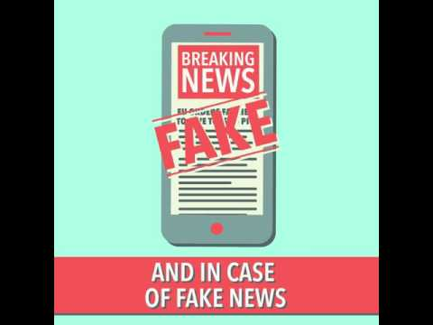 How to spot when news is fake?