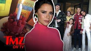 "Victoria Beckham's Birthday ""Cake"" Is A Sad Sight To See | TMZ TV"