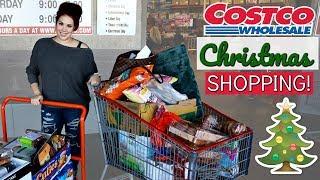 HUGE CHRISTMAS GROCERY SHOPPING TRIP   Costco Haul!