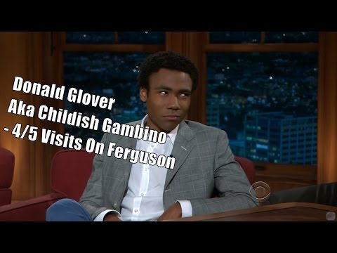 Donald Glover Aka Childish Gambino - Craig Is His Real Father - 4/5 Visits In Chronological Order
