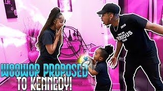 WOOWOP PROPOSED TO KENNEDY IN FRONT OF DDG
